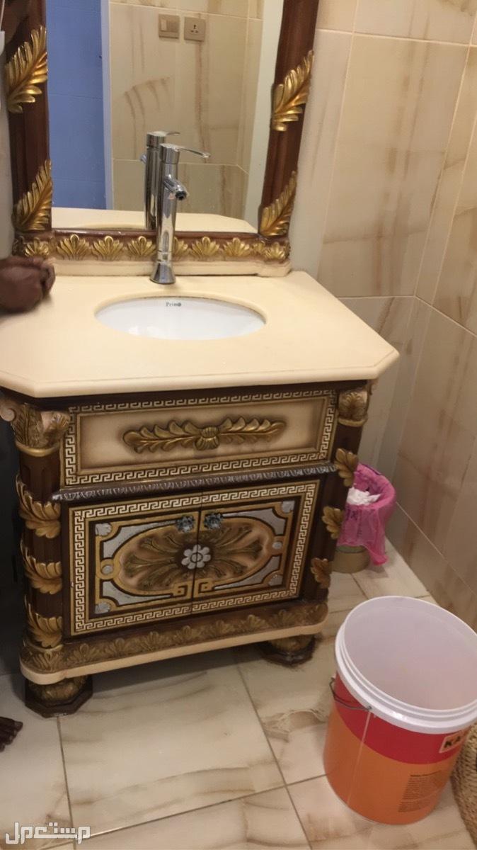 مغسله رخامية - شغل يدوي