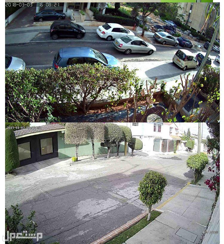 نظام كاميرا أمان مع ركوردر 3 تيرا و6 كاميرات Techege 8CH 1080P لاسلكي CCT