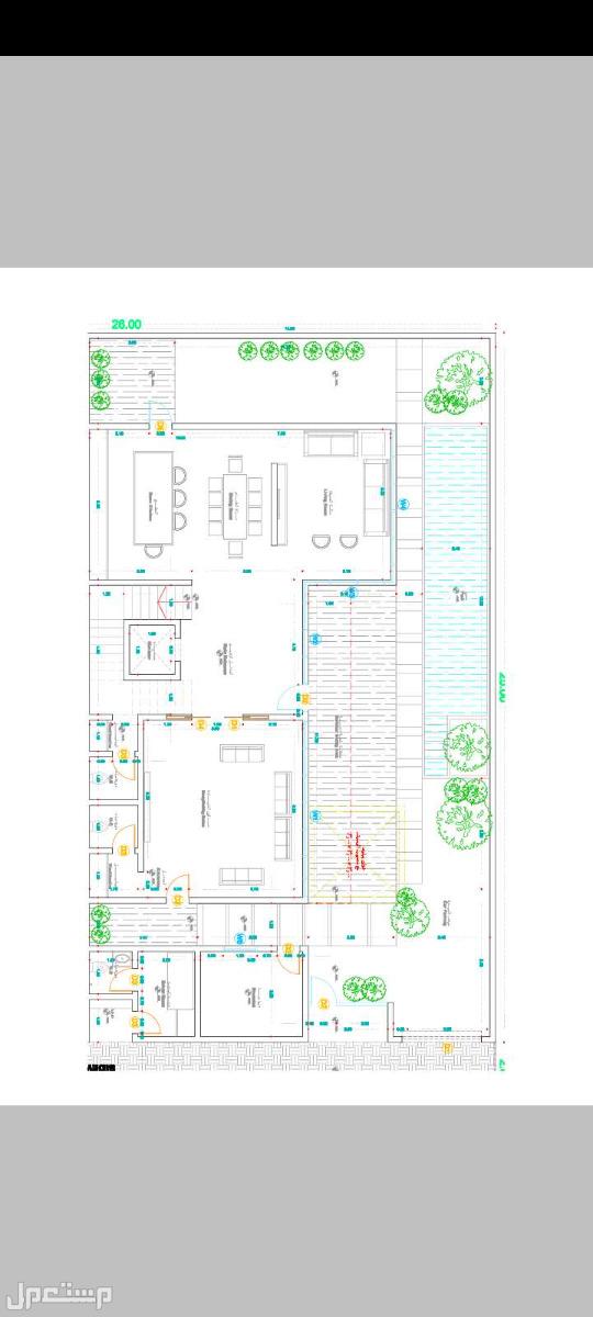 تصاميم معمارية وانشائية ولاندسكيب 3d,2d