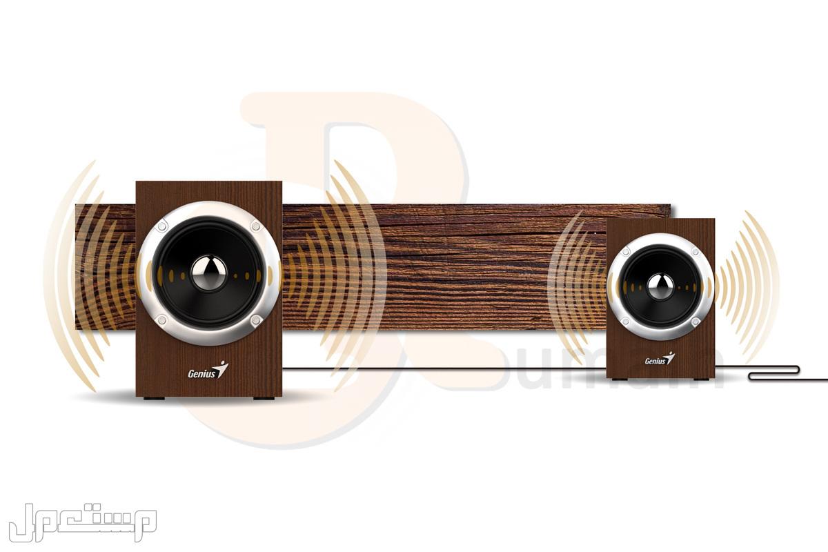 سماعة سبيكر كمبيوتر خشبية - HF280