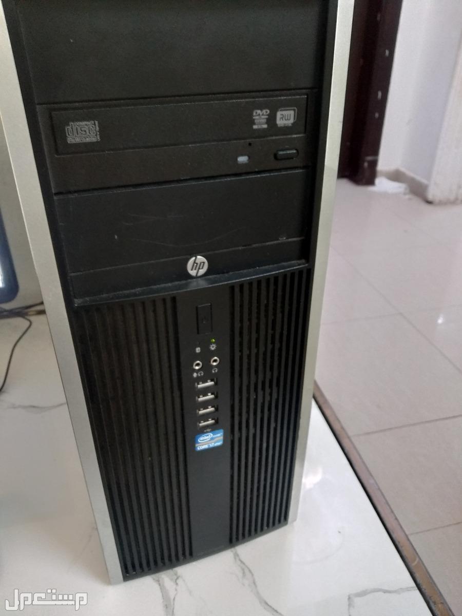 كمبيوتر اتش بي كور اي 7  للبيع مع شاشة 23