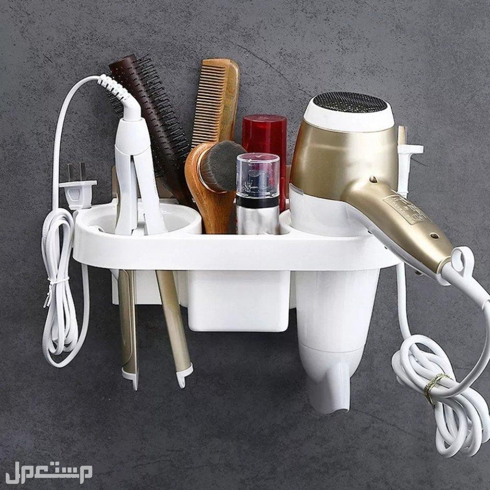 حامل و منظم استشوار و ادوات الحمام