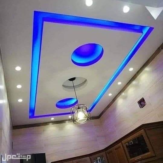 ديكورات الجبس سقف مستعار في الرياض