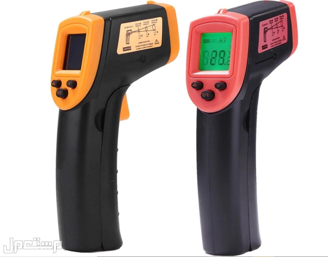 ميزان حرارة ليزر مقياس درجة حرارة غير ملامس بالاشعة تحت الحمراء