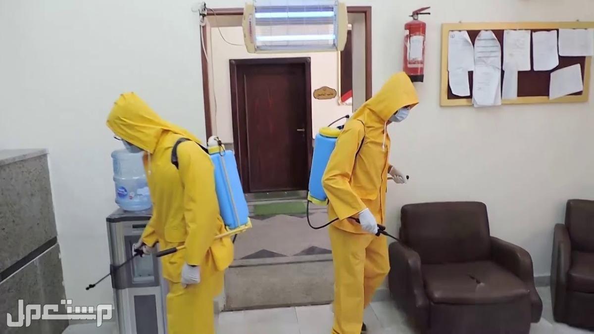 شركة تنظيف ومكافحة حشرات بجازان