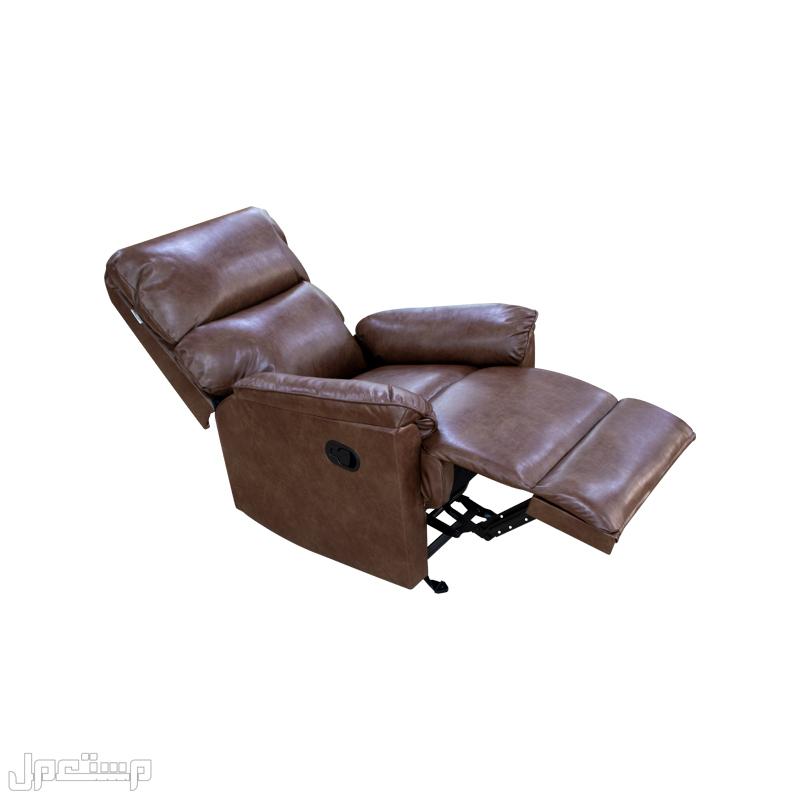 كرسي راحة واسترخاء جلد فاخر