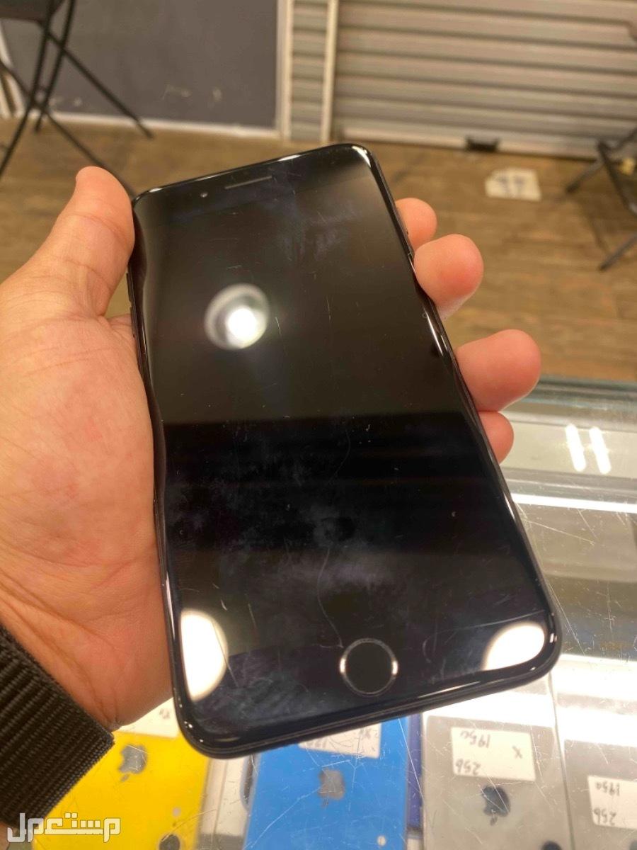 للبيع ايفون 7 بلس اسود مستخدم 128