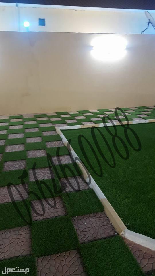 عشب صناعى في ينبع ثيل صناعى بينبع للبيع