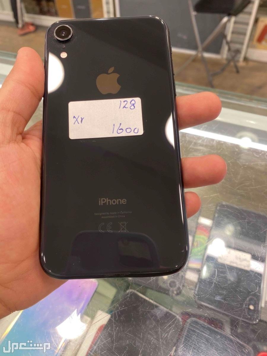 للبيع ايفون اكس ار 128 مستخدم اسود