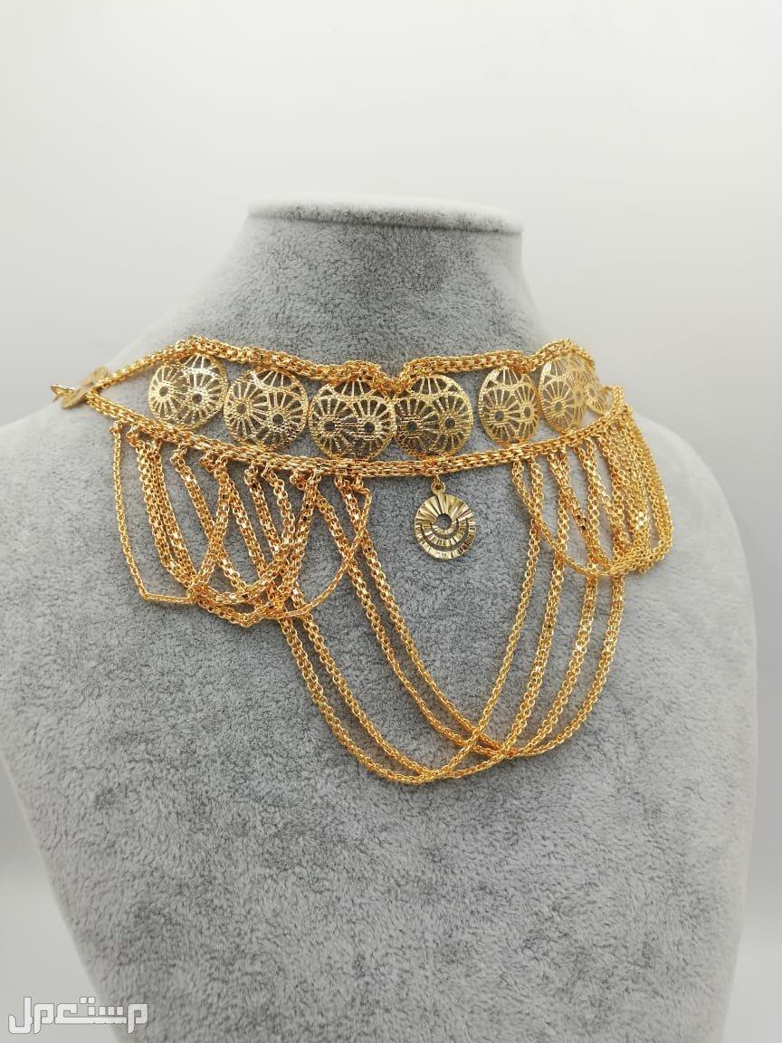 مزنط او خناق بديل الذهب ضمان سنه لون وفصوص