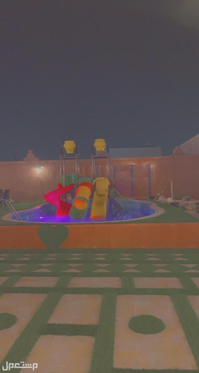 شاليهات الريم حي الأجاويد *يوجد ألعاب مائية*