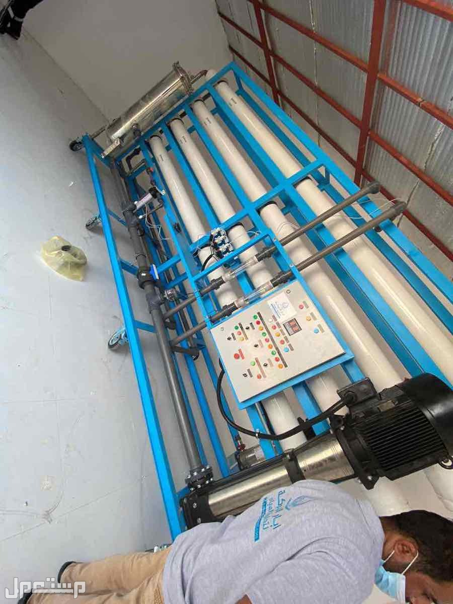 محطة تحلية مياه ابار وبحار 1000 طن