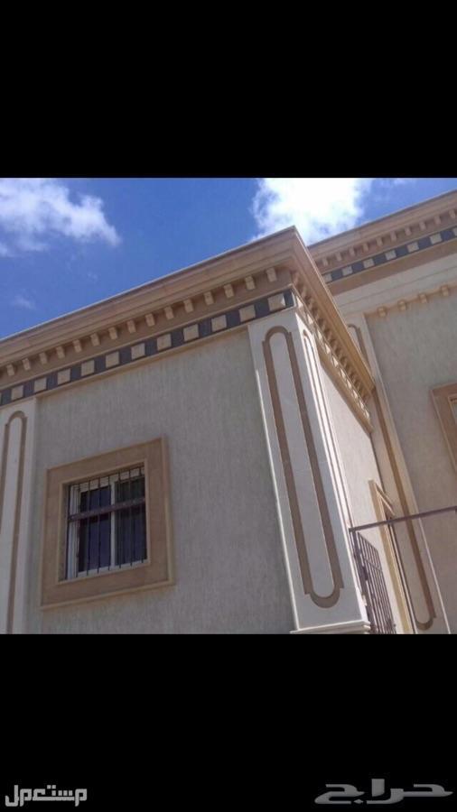 أعمال الواجهات الخارجية حجر الأردن وحجر الرياض الطبيعي والرخام