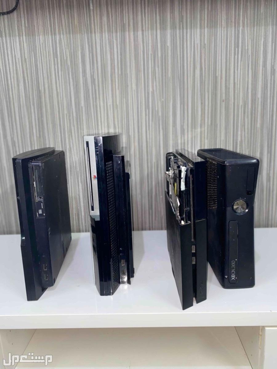 أجهزة بلايستيشن 3 و بلايستيشن 4 و اكس بوكس للبيع لأعلى سوم