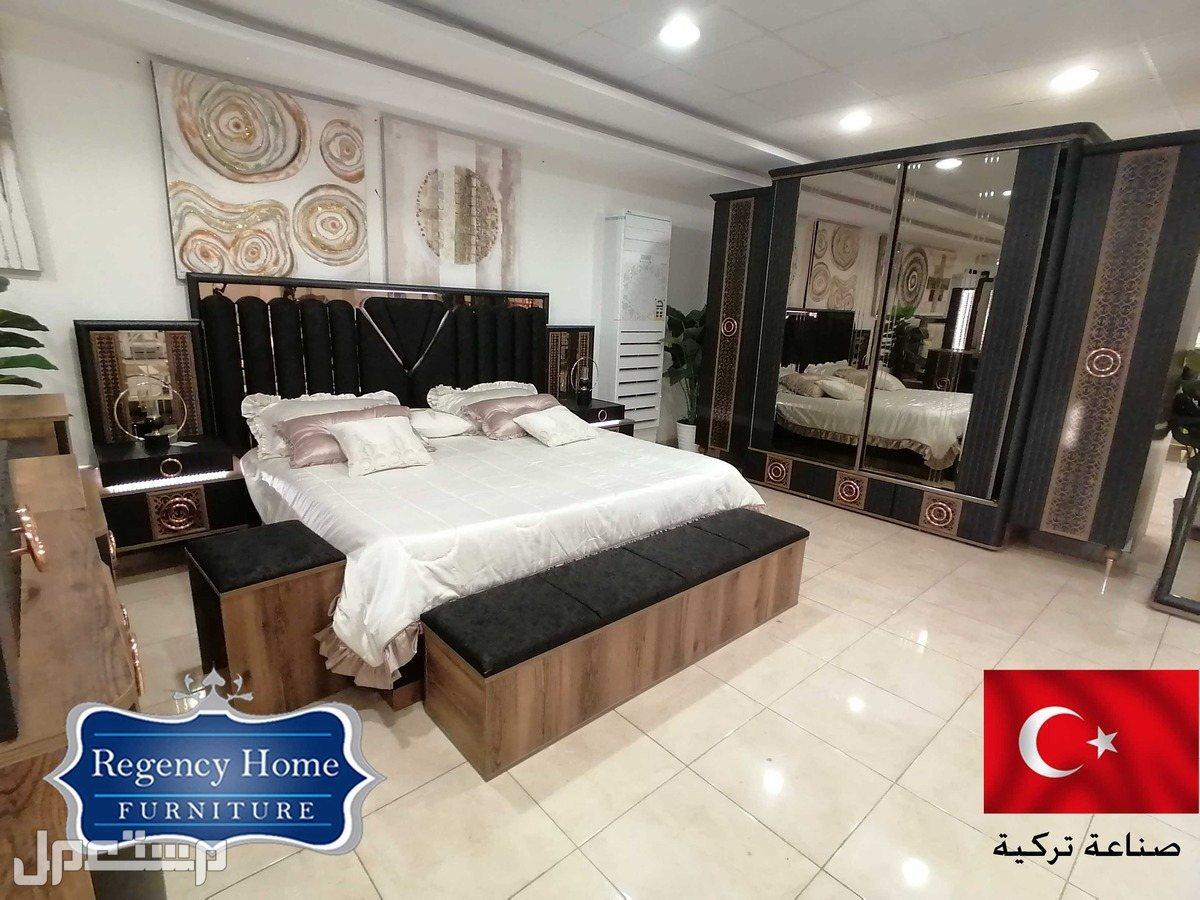 غرفة نوم مودرن و مميزة صناعة تركية غرفة نوم مودرن و مميزة صناعة تركية