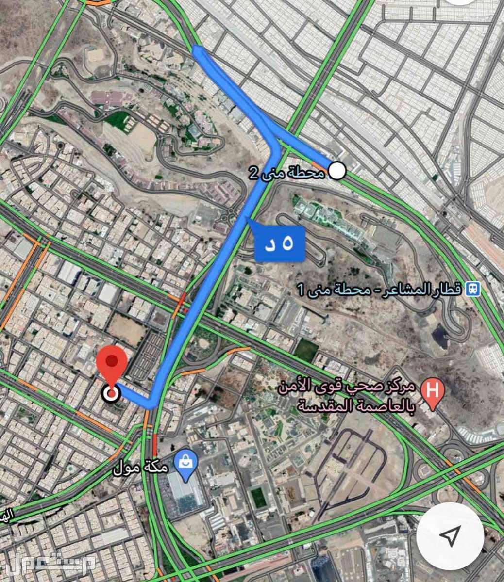 ارض للبيع في مكة بحي العزيزية