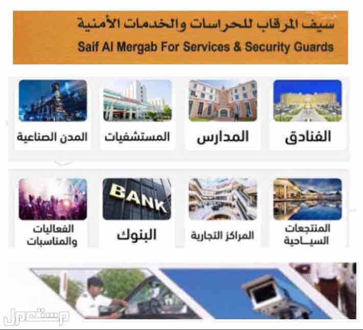تبحث عن عقود حراسات امنيه في جميع مدن المملكة