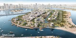 علي حدود دبي منظر مطل علي حديقة الممزر دبي