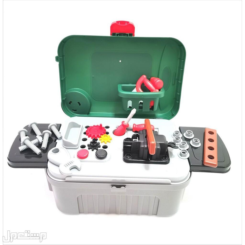 لعبة المعدات لطفلك لعبة مسلية جداً وتنمي المهارات الذهنية