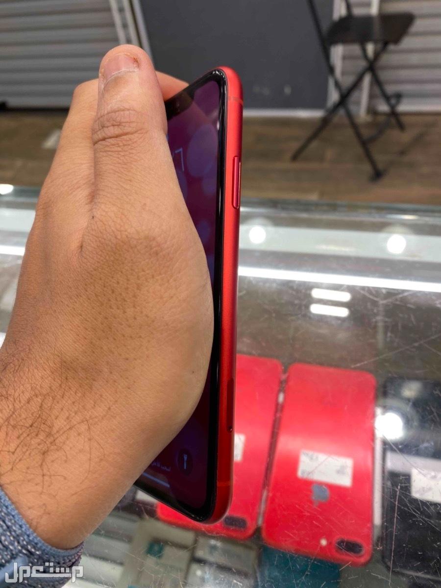 للبيع ايفون اكس ار 128 مستخدم احمر