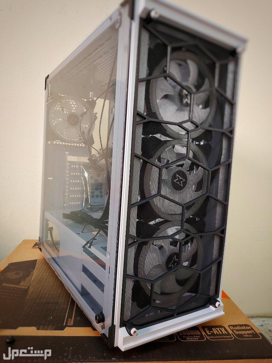هيكل كمبيوتر جديد للبيع جدة xigmatek venom x rgb ب اربع مراوح
