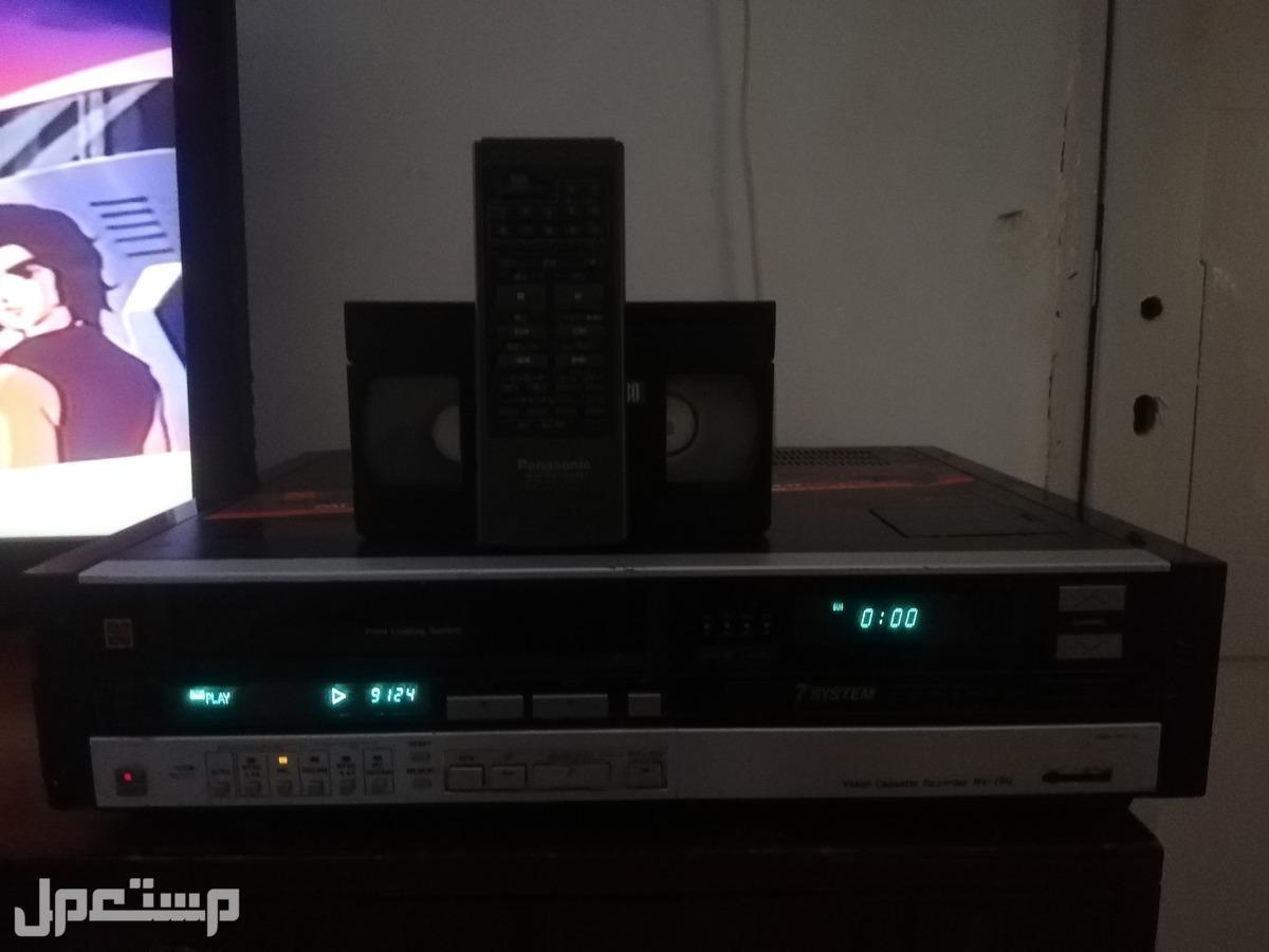 فيديو ناشيونال 7 انظمه شريط كبير VHS