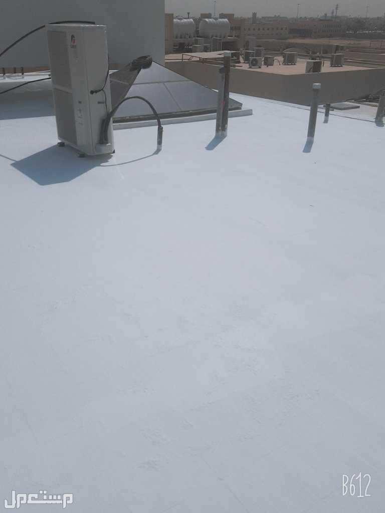 عوازل اسطح من ميا الأمطار