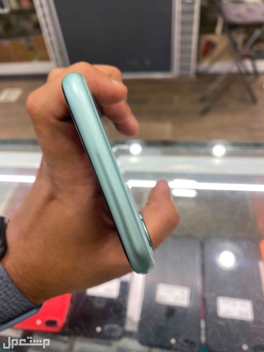 للبيع ايفون 11 اخضر تيفني 128 مستخدم