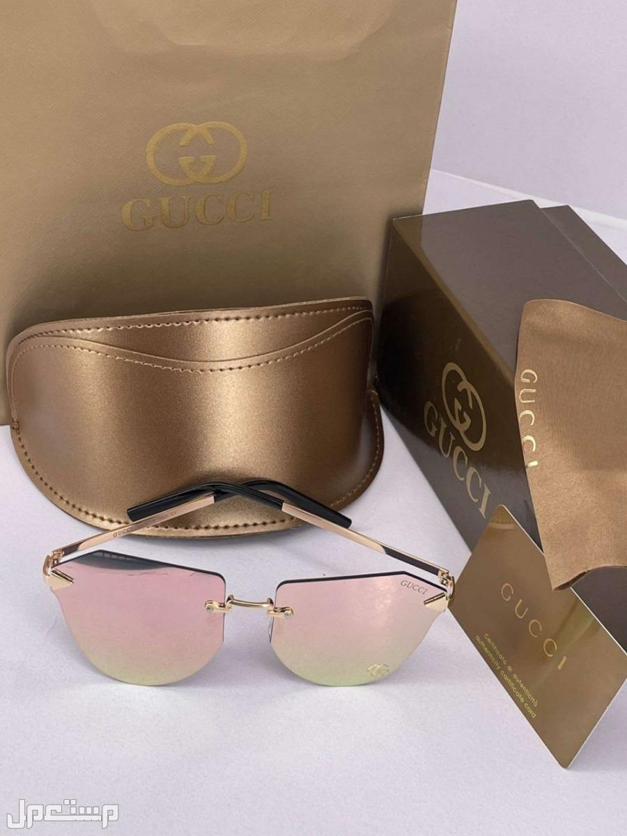 نظارات شمسية ماركة قوتشي كولتي 130ريال