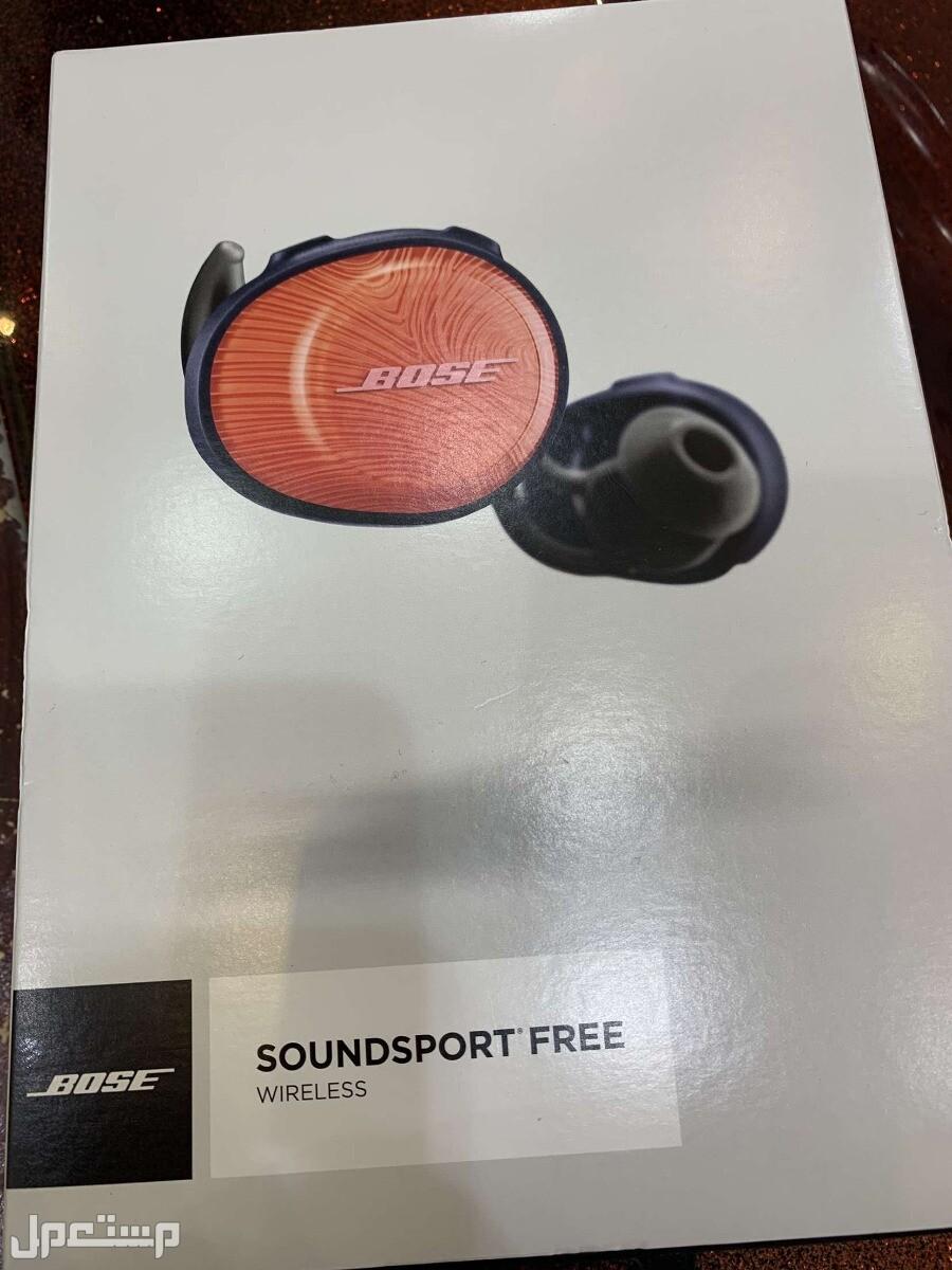 سماعة Bose soundsport free شبه جديدة
