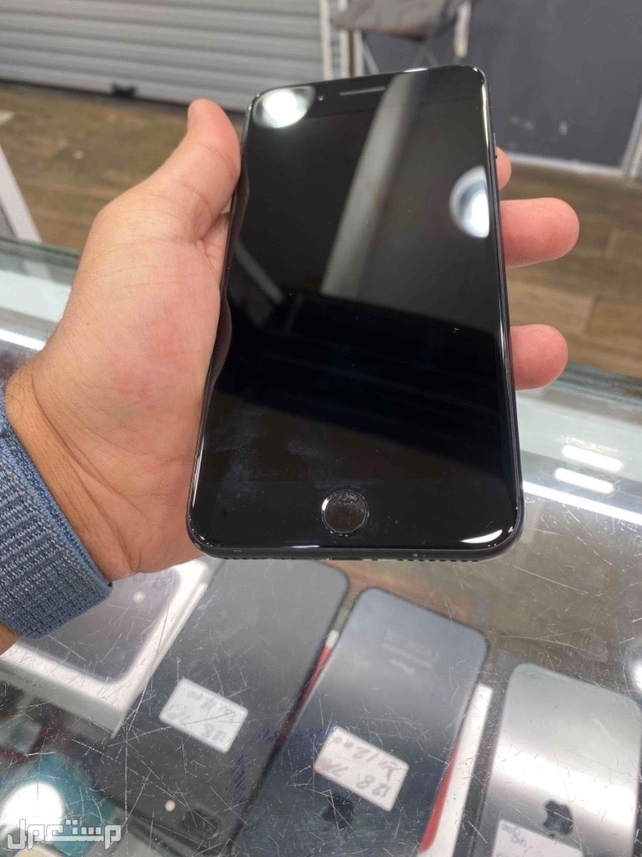 للبيع ايفون 7 بلس اسود 128 مستخدم