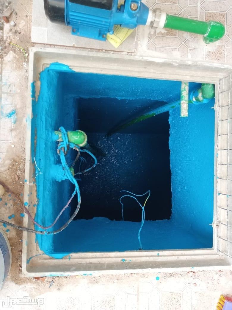 لحام وإصلاح خزانات الفيبر جلاس تنظيف خزانات
