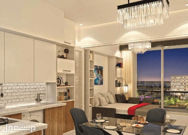 شقة غرفة وصالة للبيع في دبي