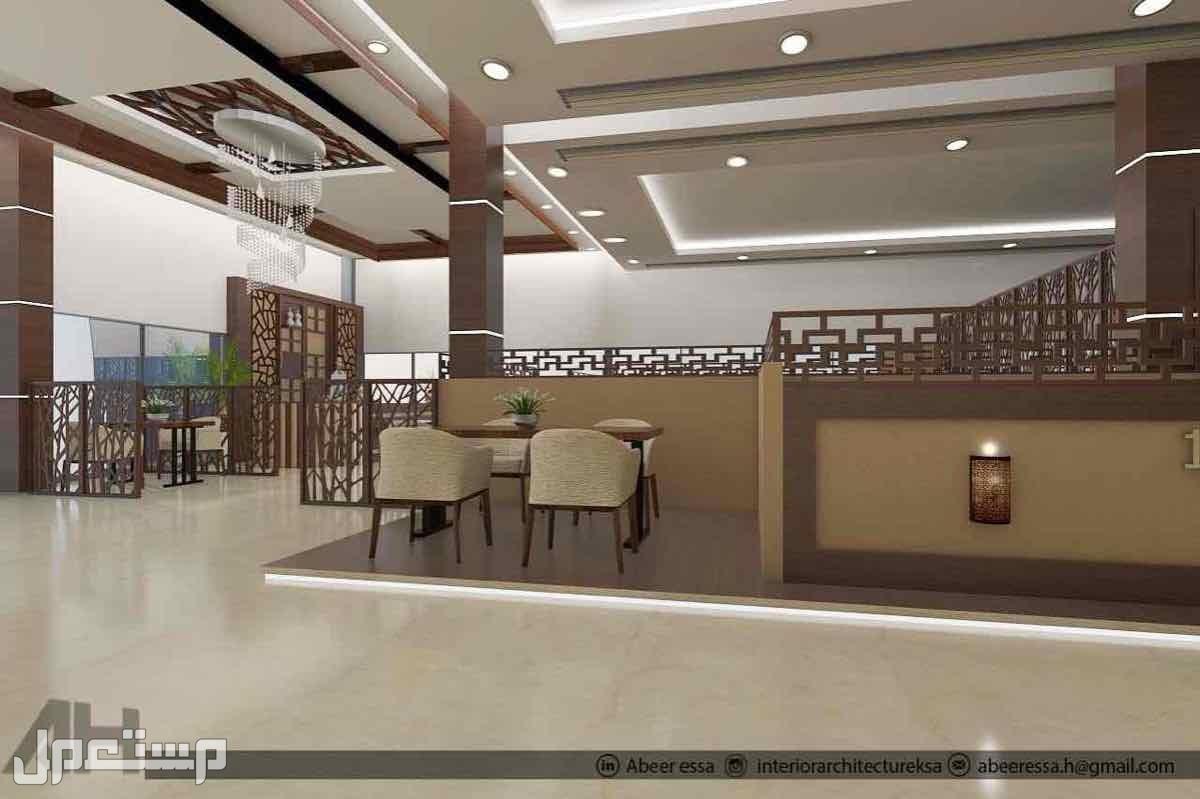 تصميم تنفيذ ديكورات مطاعم مكاتب كافيهات اقل سعر