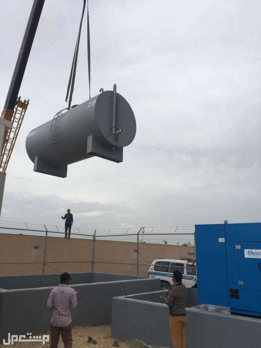 خزان ديزل للمولدات الكهربائية