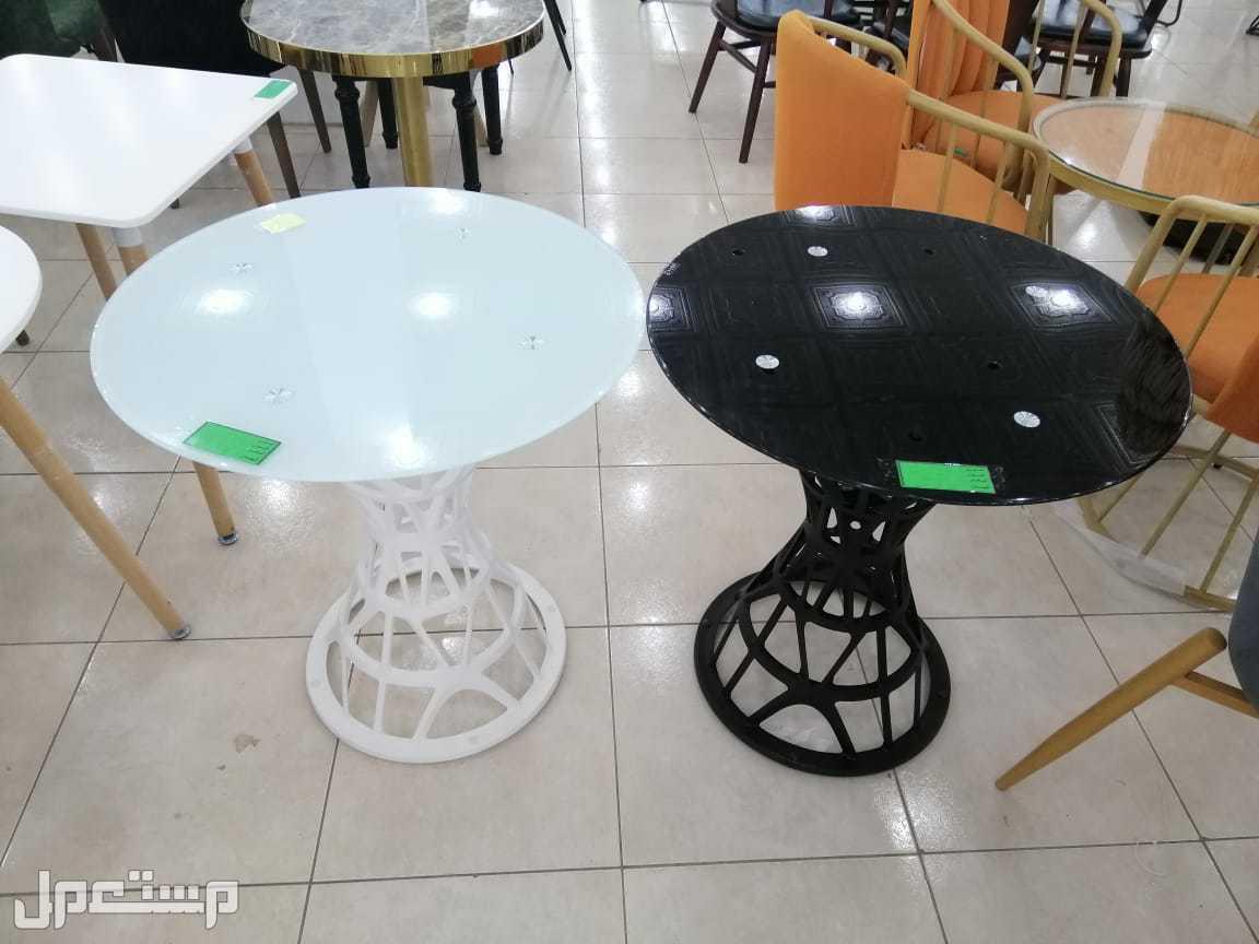 طاولات كوفي دائري جديد بالكرتون