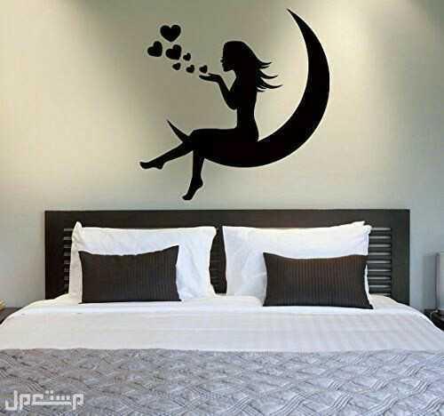 ارقي انواع الدهانات رسم عروسه ف غرفه النوم الهادئه