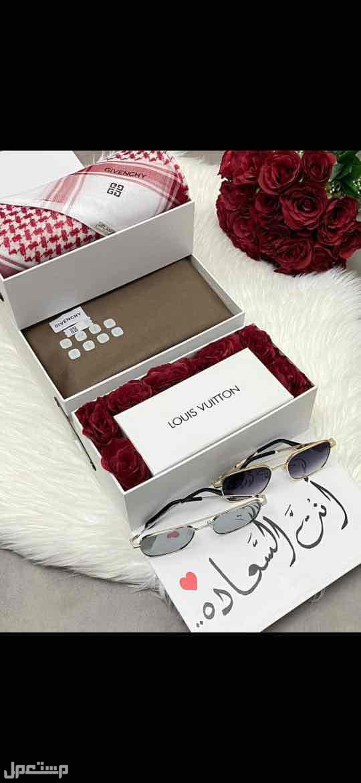 بوكسات رجاليه جفنشي اهداء قماش شماغ قلم كبك ميداليه عطر نظاره
