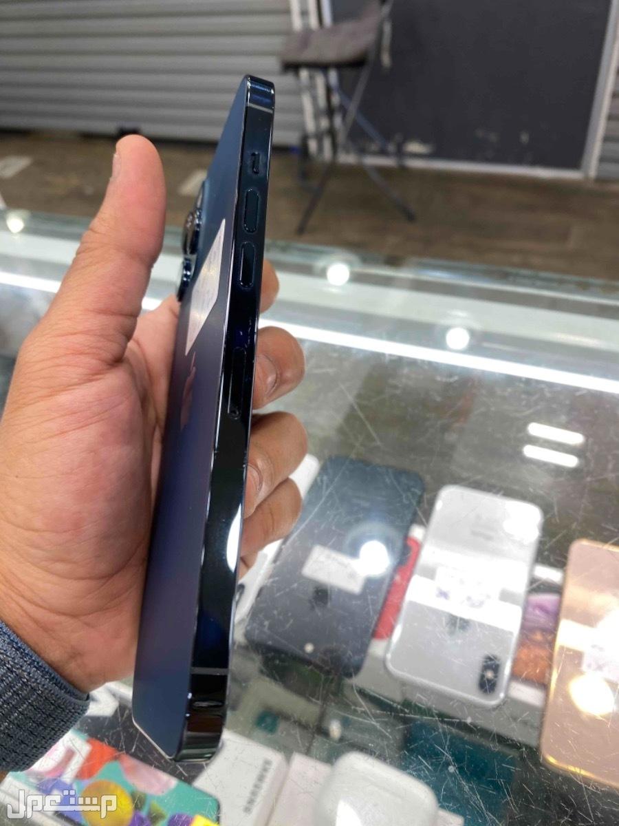 للبيع ايفون 12 برو ماكس 128 ازرق مستخدم