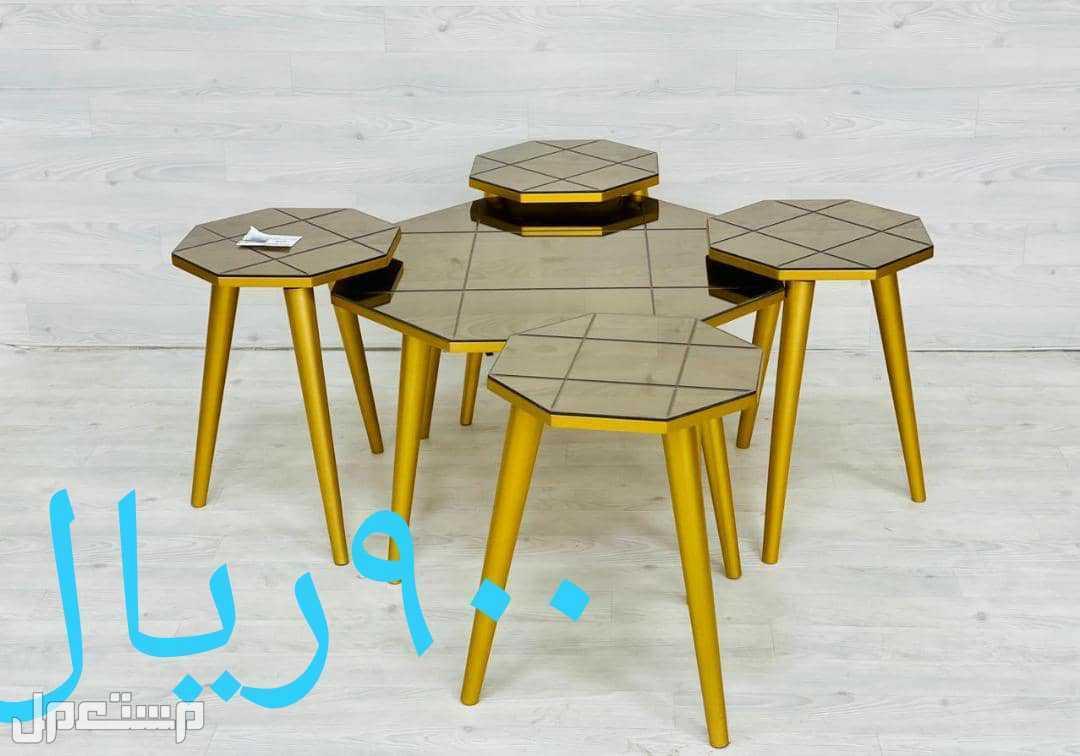 طاولات 5 قطع جديد بالكرتون