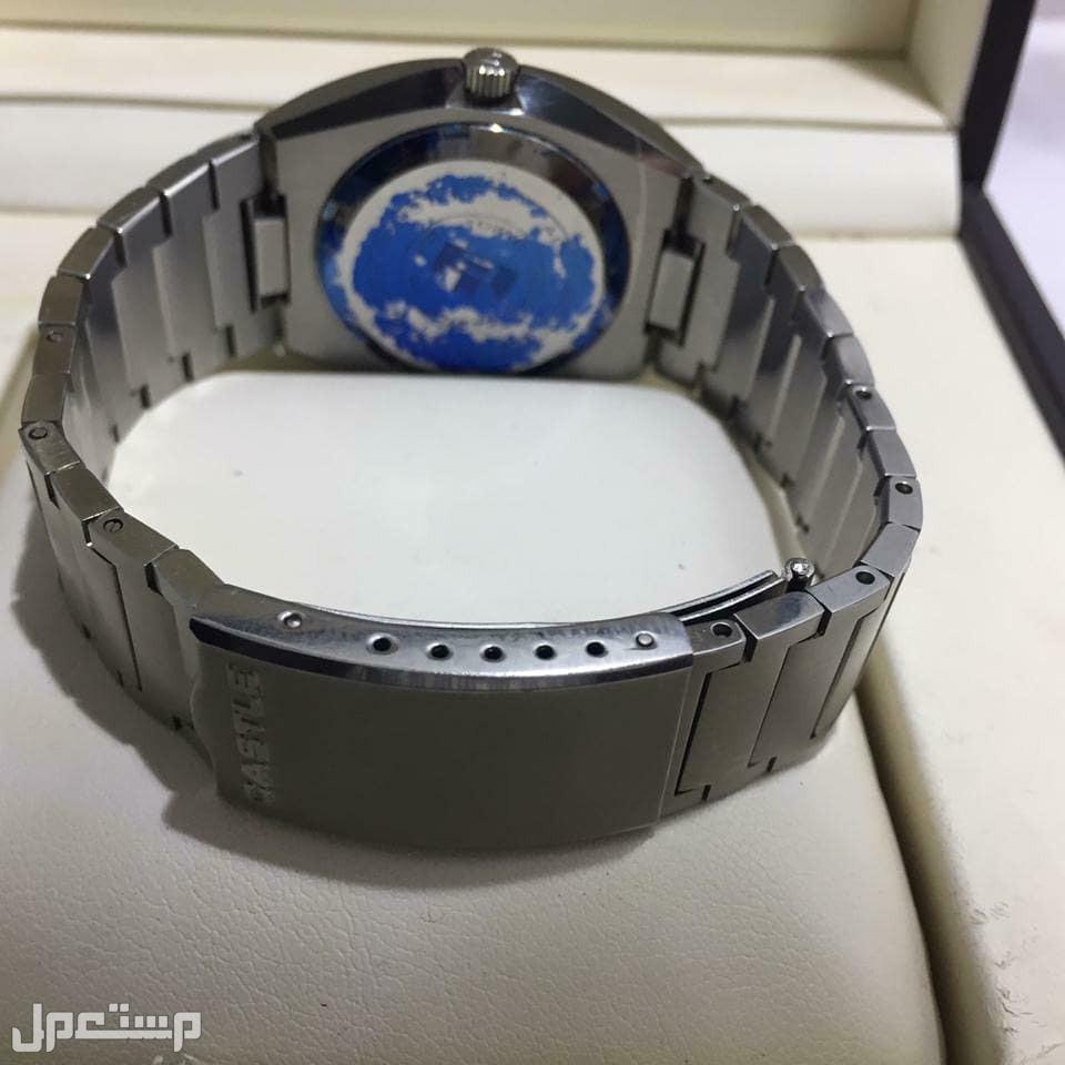 ساعة  كاستل CASTLE  قديمة جديدة مخزنة  يابانية اصلية