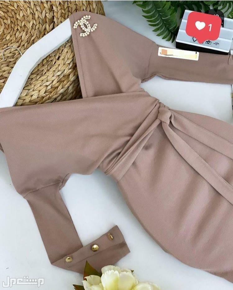 فستان الجمال والاناقة ماركة شانيل متوفر 5 مقاسات