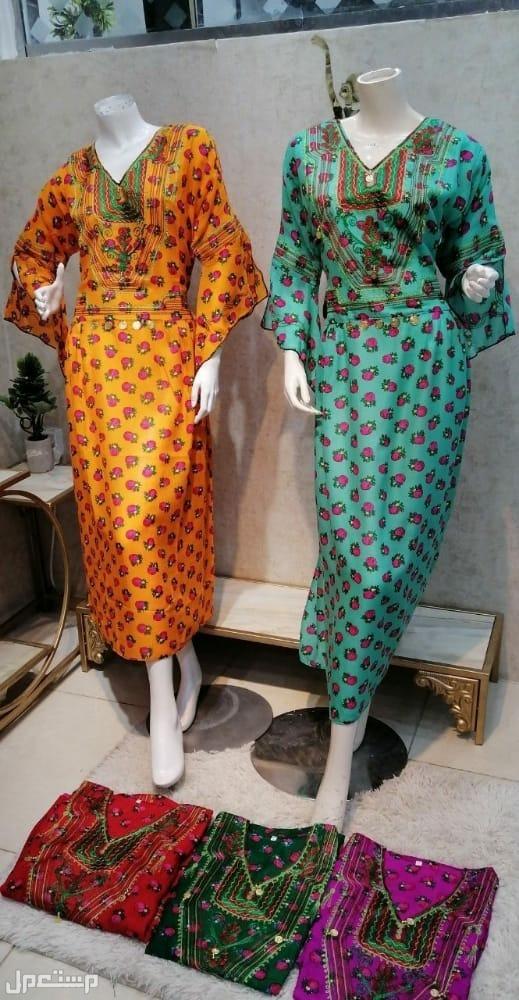 مجموعة من الفساتين بأسعار خيالة