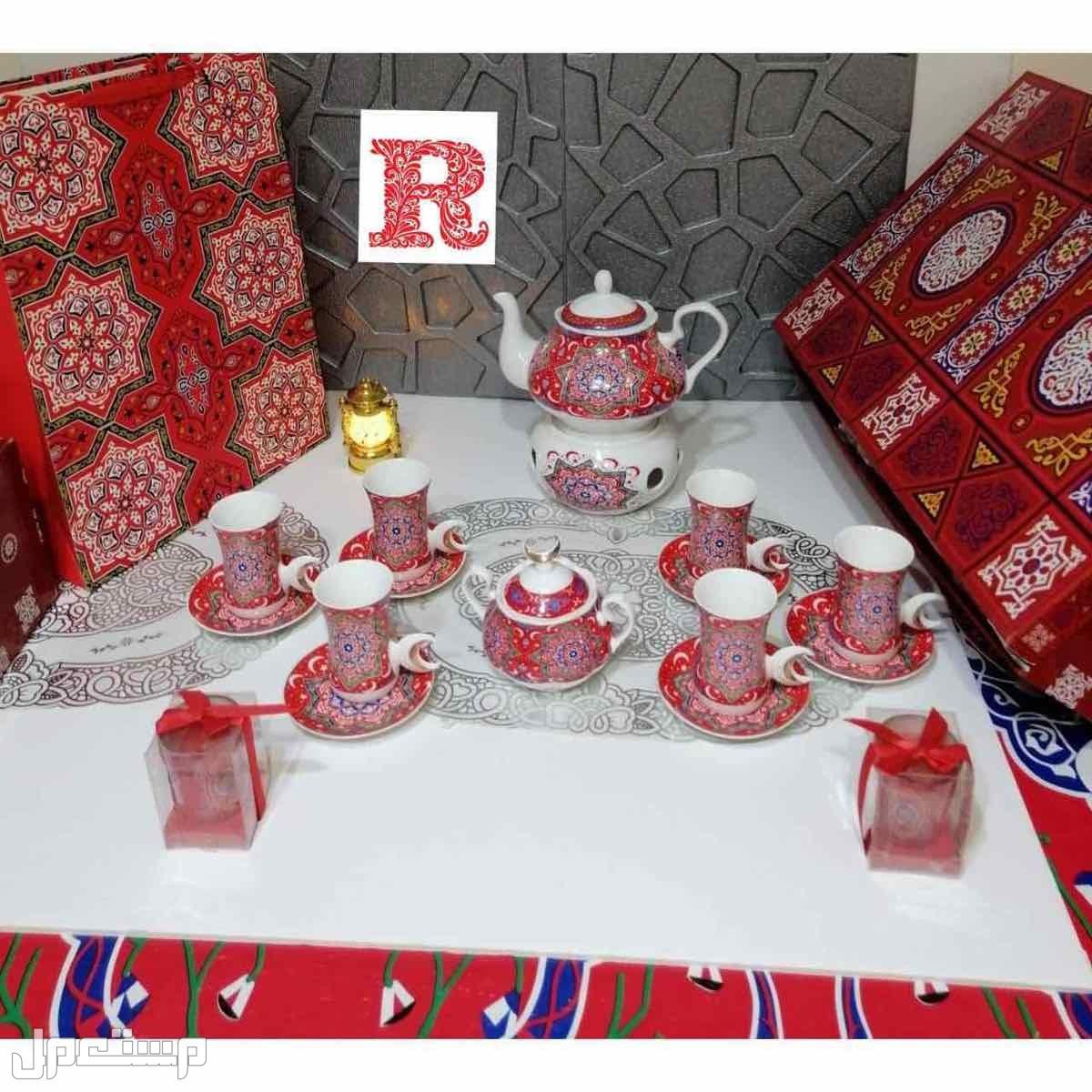 اطقم رمضانيه متكامله  قهوه - شاي سيراميكًً