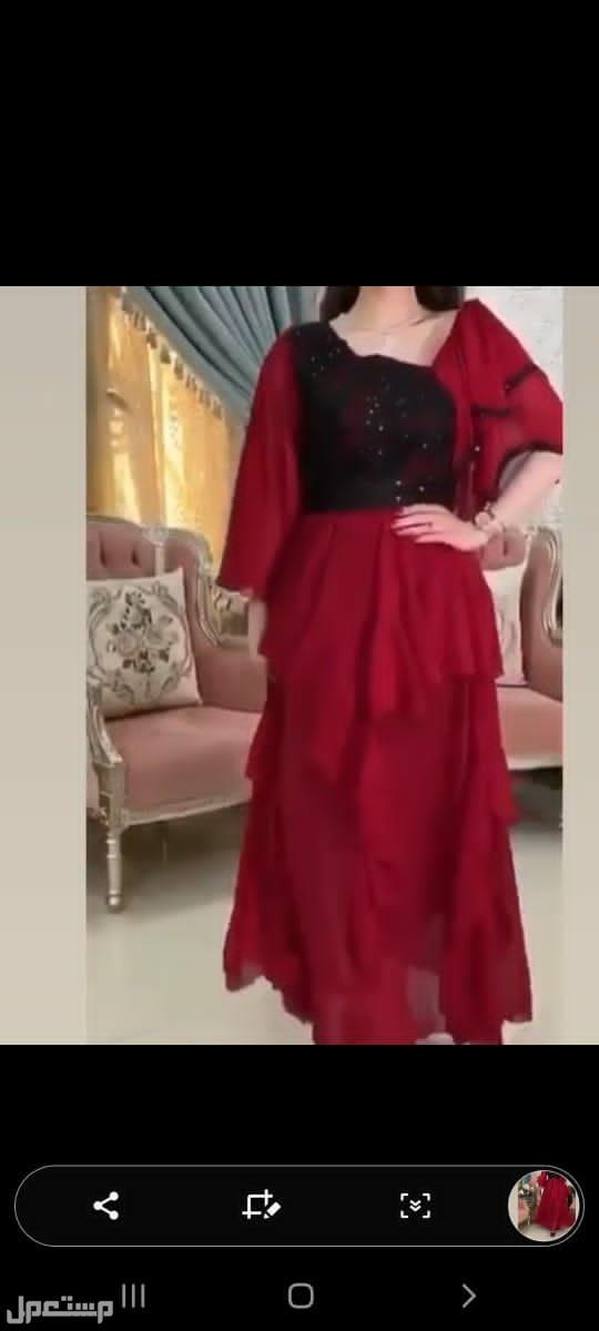 فساتين سهرة عرض خاص  اي فستان ب 180ريال فقط