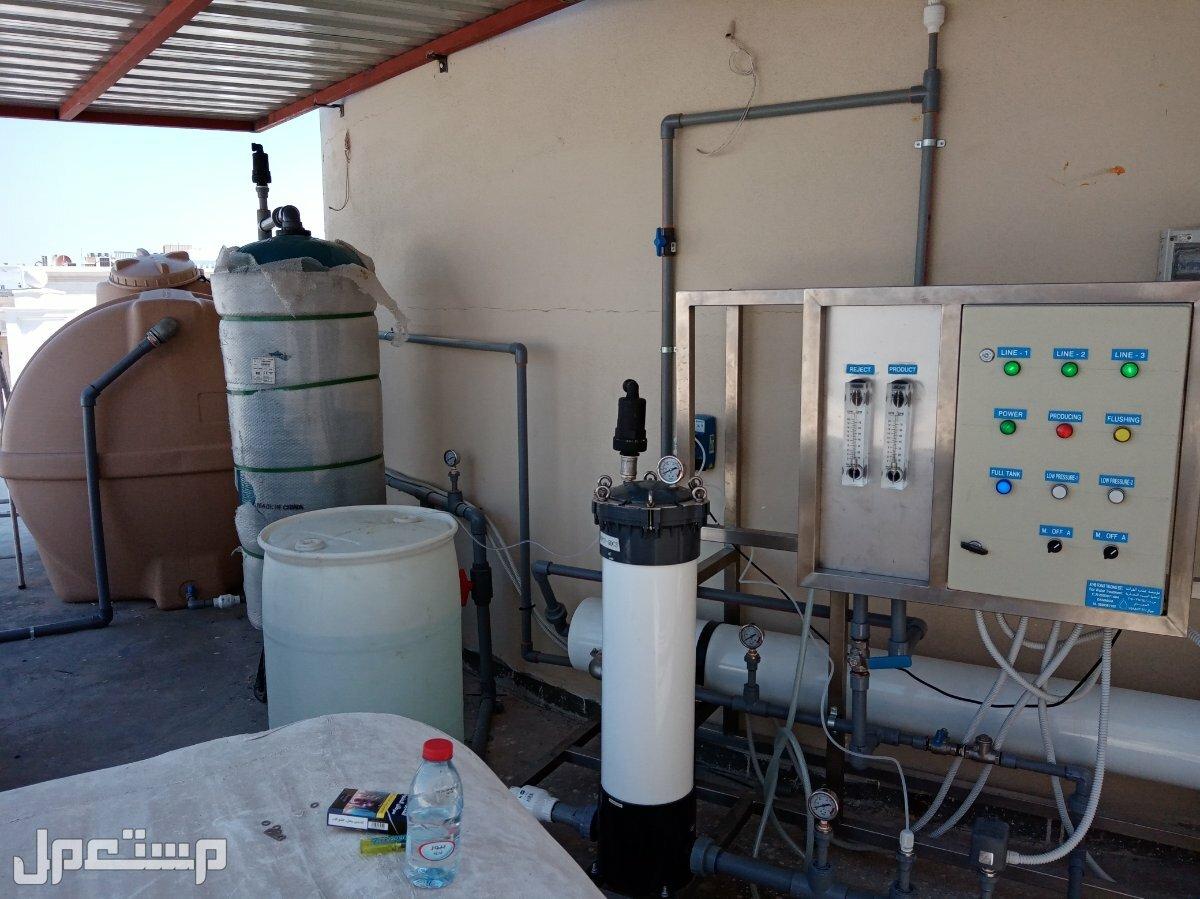 محطات تحلية مياه مواصفات و جودة