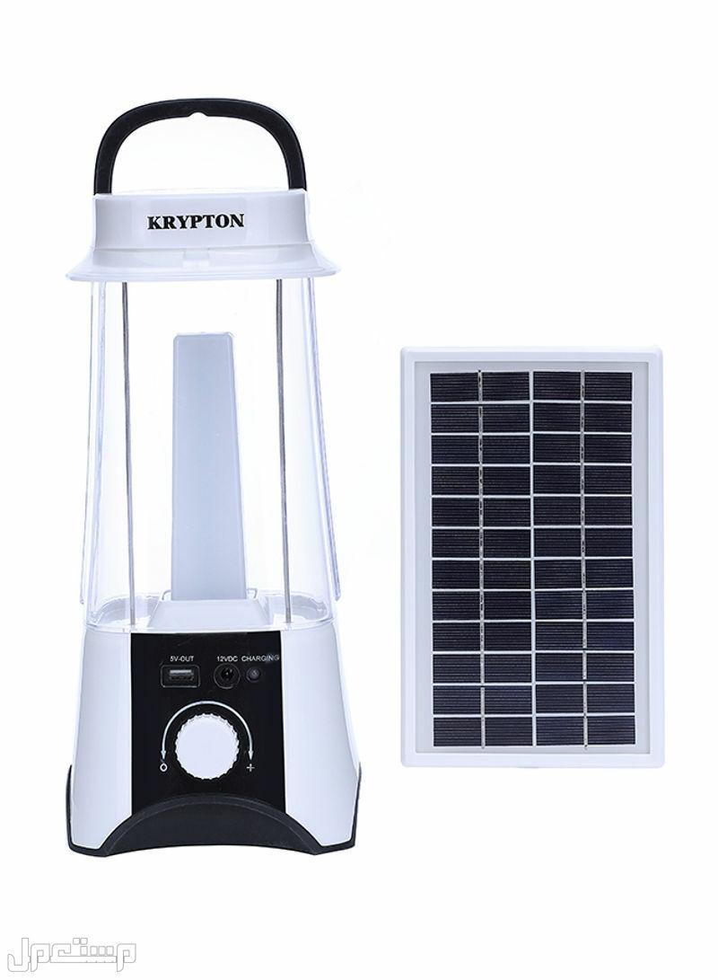 كشاف طوارئ كريبتون بقوة 60لمبة ليد يعمل بالطاقة الشمسية او الشحن بالكهرباء