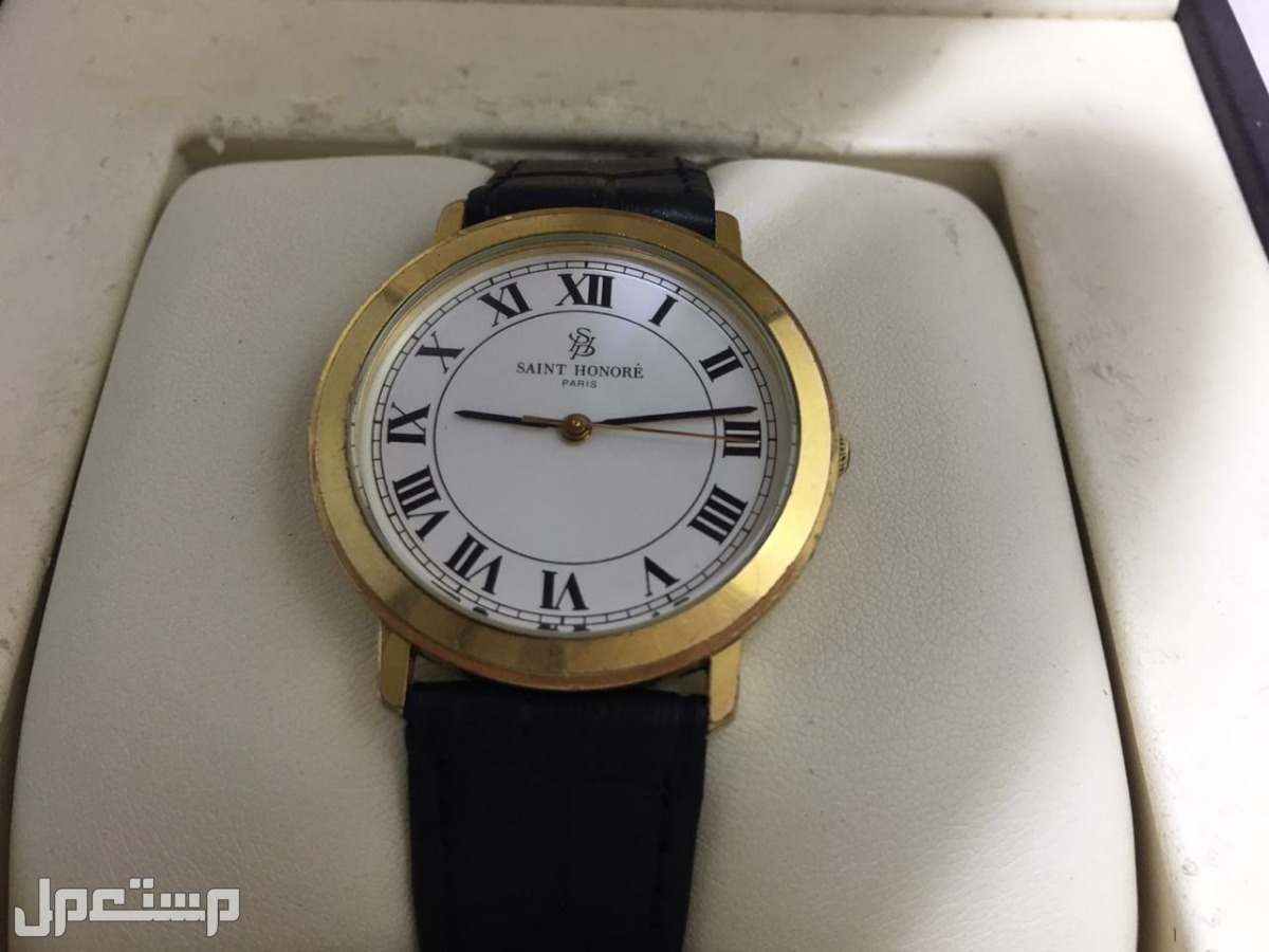 ساعة سانت هونري SAINT HONORE  رجالبة فرنسية أصلية