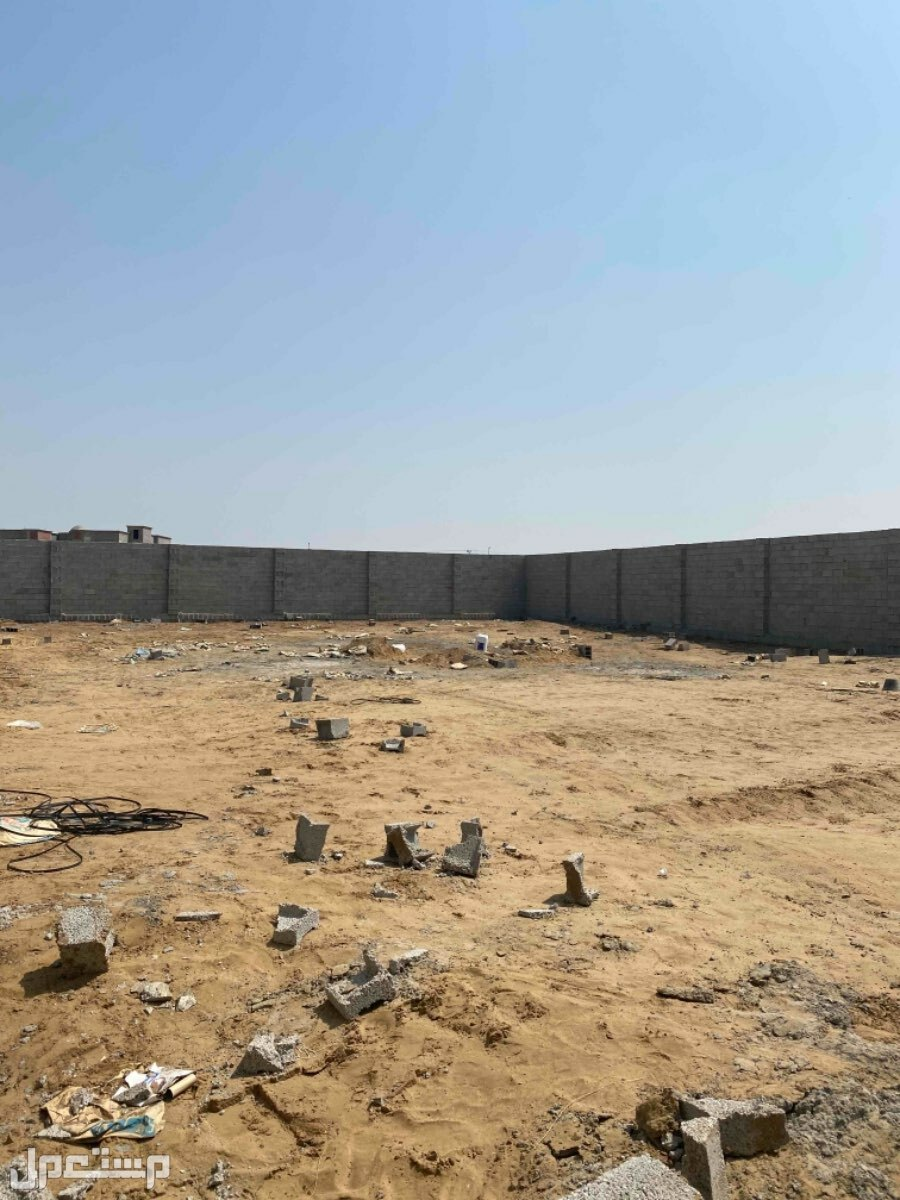 أرض بصك شامل وحوش جدار للبيع