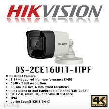كاميرا مراقبة 8mp hikvision 4k